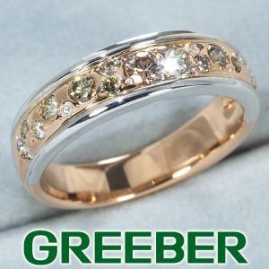 カシケイ リング 指輪 ダイヤ ダイヤモンド 0.50ct メランジェ 14号 K18PG/WG BLJ|greeber01