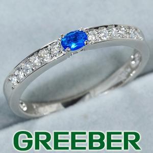 アウイナイト 0.07ct ダイヤ ダイヤモンド 0.14ct リング 指輪 Pt900/プラチナ ソーティングメモ GENJ 超大幅値下げ品|greeber01