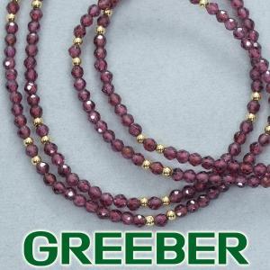 ロードライトガーネット ネックレス K18YG GENJ greeber01