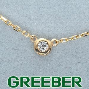 ダイヤ ダイヤモンド アンクレット K10YG GENJ|greeber01
