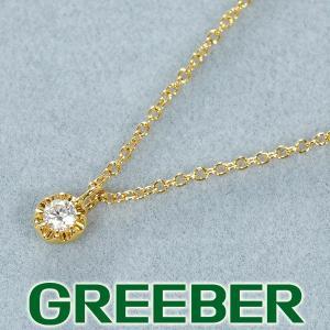 スタージュエリー ネックレス ダイヤ ダイヤモンド 0.03ct K18YG BLJ/GENJ greeber01