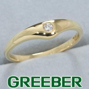 ティファニー リング 指輪 ダイヤ ダイヤモンド 10.5号 K18YG BLJ|greeber01