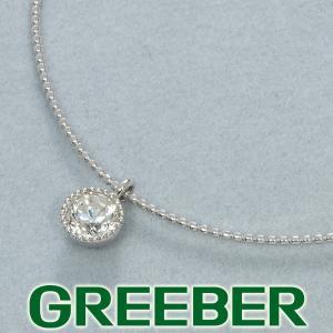 ダイヤ ダイヤモンド 0.355ct ネックレス オメガ Pt900/プラチナ/K18WG 鑑定書 GENJ|greeber01