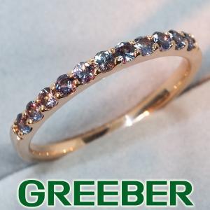 カラーチェンジガーネット リング 指輪 K18PG GENJ greeber01