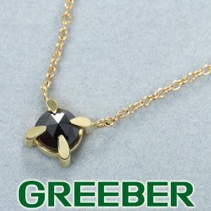 ミズキ ネックレス ブラックダイヤ ダイヤモンド 0.585ct K14YG BLJ/GENJ|greeber01