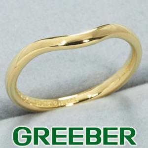 ティファニー リング 指輪 カーブドバンド 8.5号 K18YG BLJ|greeber01