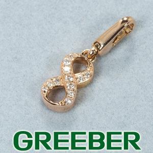 ノンブル ペンダントトップ ダイヤ ダイヤモンド 0.05ct ナンバー No.8 K18PG BLJ/GENJ|greeber01