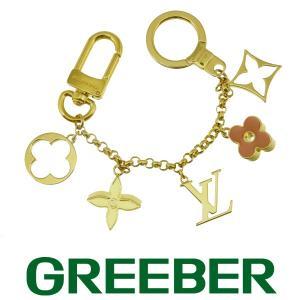 ルイヴィトン フルール ドゥ モノグラム バックチャーム ゴールド金具 M65111 BSK|greeber01