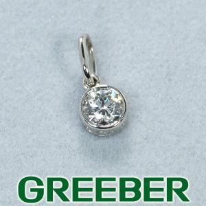 ティファニー ペンダントトップ ダイヤ ダイヤモンド 0.15ct程 Pt950/プラチナ BLJ|greeber01