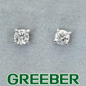ダイヤ ダイヤモンド 0.05ct/0.05ct ピアス Pt900/プラチナ GENJ|greeber01