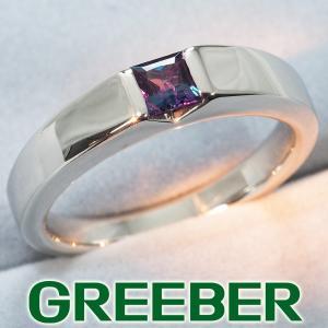 アレキサンドライト 0.29ct リング 指輪 Pt900/プラチナ ソーティング GENJ|greeber01
