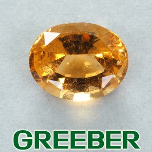 ヘソナイトガーネット 17.067ct ルース 裸石 ソーティング GENJ greeber01