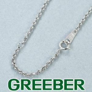 アズキチェーン ネックレス 40cm/36cm K18WG GENJ|greeber01