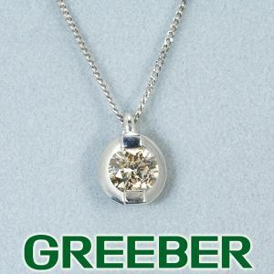 ダイヤ ダイヤモンド 0.30ct ネックレス Pt900/Pt850/プラチナ GENJ|greeber01