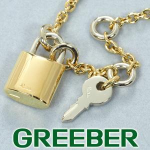 ポメラート ネックレス キー カデナ K18YG/WG BLJ|greeber01
