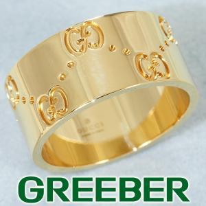 グッチ リング 指輪 アイコン ワイド 14号 K18YG BLJ|greeber01