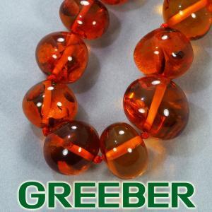 琥珀 ネックレス GENJ|greeber01