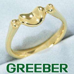 ティファニー リング 指輪 ビーンズ 12号 K18YG BLJ|greeber01