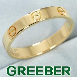 カルティエ リング 指輪 ミニラブ ウェディング 57号 K18YG BLJ|greeber01