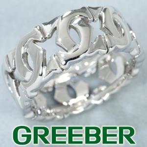 カルティエ リング 指輪 アントルラセ 54号 K18WG BLJ|greeber01