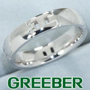 エルメス リング 指輪 ヘラクレス 60号 K18WG BLJ|greeber01