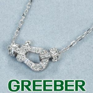 フレッド ネックレス ダイヤ ダイヤモンド フォース10 ミニ K18WG  箱/保証書 BLJ|greeber01