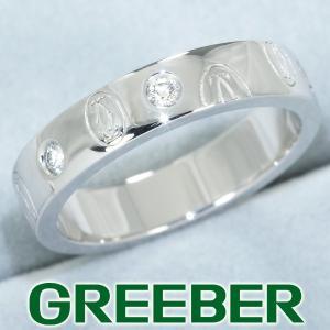 カルティエ リング 指輪 ダイヤ ダイヤモンド ハッピーバースデー 49号 K18WG BLJ|greeber01