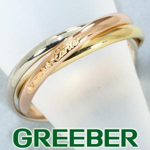 カルティエ リング 指輪 トリニティ 49号 K18YG/WG/PG BLJ|greeber01