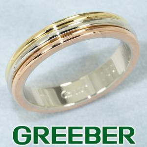 カルティエ リング 指輪 スリーカラー 51号 K18YG/WG/PG BLJ|greeber01