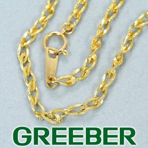 デザインチェーン ネックレス 46cm K18YG GENJ|greeber01