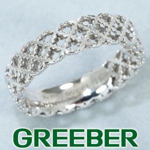 グッチ リング 指輪 ディアマンティッシマ 11号 K18WG 箱 BLJ|greeber01
