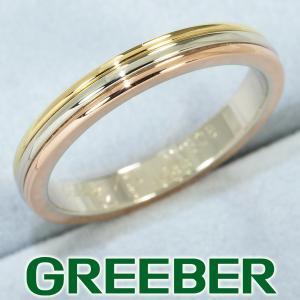 カルティエ リング 指輪 スリーカラー 54号 K18YG/WG/PG BLJ|greeber01