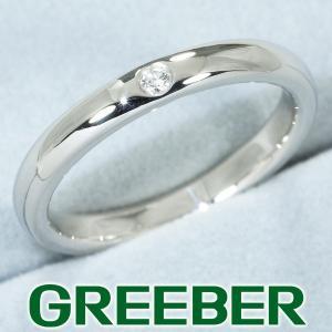 ティファニー リング 指輪 ダイヤ ダイヤモンド スタッキングバンド  10号 Pt950/プラチナ BLJ|greeber01