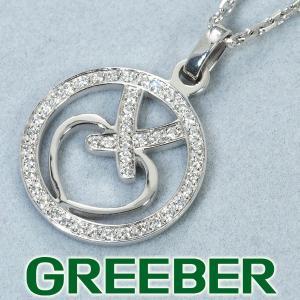 ショーメ ネックレス ダイヤ ダイヤモンド アクロシュクール リアンハート K18WG BLJ|greeber01