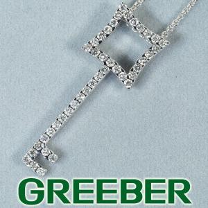 キメント ネックレス ダイヤ ダイヤモンド キー K18WG BLJ/GENJ|greeber01
