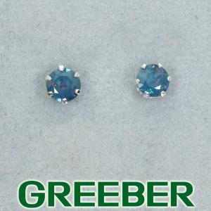 アレキサンドライト 0.10ct/0.10ct ピアス Pt900/プラチナ GENJ|greeber01