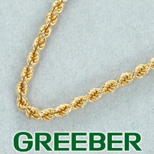 ツイストチェーン ブレスレット K18YG GENJ 大幅値下げ品|greeber01