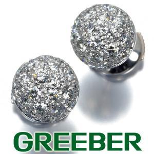 カルティエ ピアス ダイヤ ダイヤモンド ミミ スタッド K18WG BLJ|greeber01