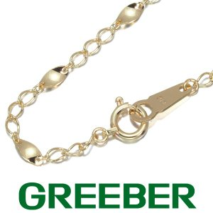 デザインチェーン ブレスレット K18YG GENJ|greeber01