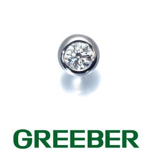 ティファニー ピアス ダイヤ ダイヤモンド 0.12ct程 バイザヤード 片耳 Pt950/プラチナ BLJ|greeber01