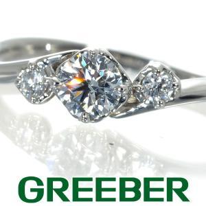 ザ・キッス THE KISS リング 指輪 ダイヤ ダイヤモンド 0.212ct/0.06ct 8号...