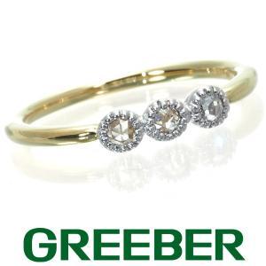 ベーネベーネ リング 指輪 ダイヤ ダイヤモンド 0.09ct ローズカット ミルグレイン 10.5号 K18YG/WG BLJ/GENJ|greeber01