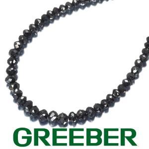 ブラックダイヤ ダイヤモンド 30.55ct ネックレス K18WG GENJ greeber01