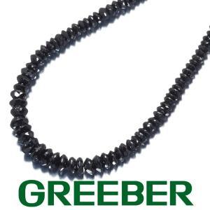 ブラックダイヤ ダイヤモンド 31.00ct ネックレス K18WG GENJ greeber01