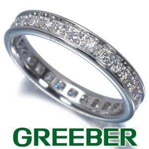 カルティエ リング 指輪 ダイヤ ダイヤモンド フル 50号 K18WG 箱/保証書 BLJ|greeber01