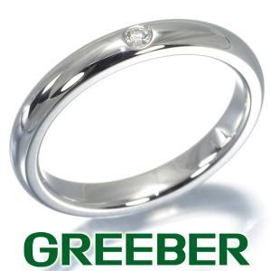 ティファニー リング 指輪 ダイヤ ダイヤモンド スタッキングバンド 9号 Pt950/プラチナ BLJ|greeber01