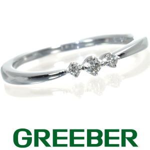 4℃ リング 指輪 ダイヤ ダイヤモンド 10号 K10WG BLJ/GENJ|greeber01