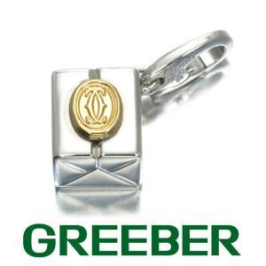 カルティエ ペンダントトップ ギフトボックス チャーム K18YG/WG BLJ 特別値下げ品|greeber01