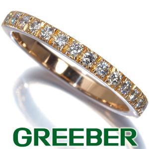 ティファニー リング 指輪 ダイヤ ダイヤモンド ノヴォ ハーフエタニティ 8号 K18PG BLJ|greeber01