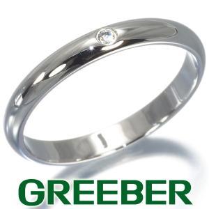 カルティエ リング 指輪 ダイヤ ダイヤモンド クラシックウェディング 50号 Pt950/プラチナ BLJ|greeber01